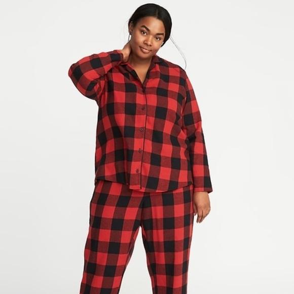 adffbb19ef Old Navy Buffalo Plaid Pajama Set